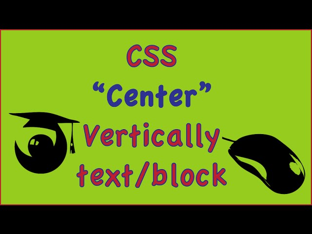 css center div vertically text block image (css align text